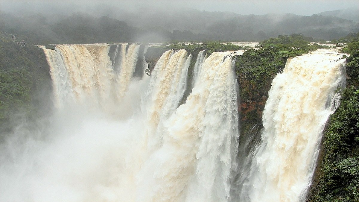 Jog Falls, one of the 10 best places to revisit in India during monsoon