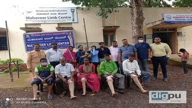 AIBRF, Dharwad donates 12 artificial limbs to the physically challenged