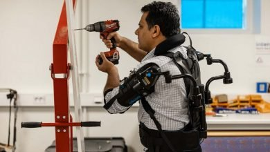 Industrial workers wearing EksoVests could cut sick leaves, up productivity