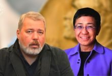 For 'safeguarding freedom of expression', two journalists win Nobel Peace Prize 2021
