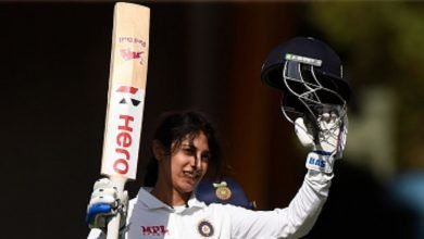 Smriti Mandhana becomes the first Indian woman to hit a 100 in Australia, #Spiritofcricket trends after Raut walks out