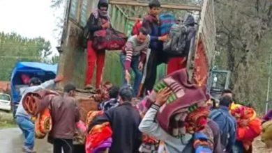 We will return to Kashmir again in the spring, non-local labourers say