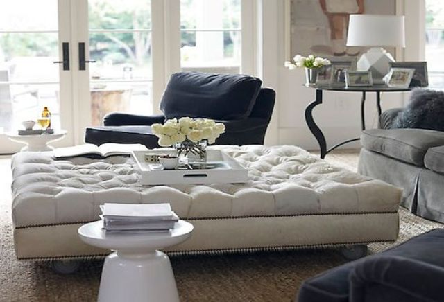 25 Large And Oversized Ottomans To Make A Statement