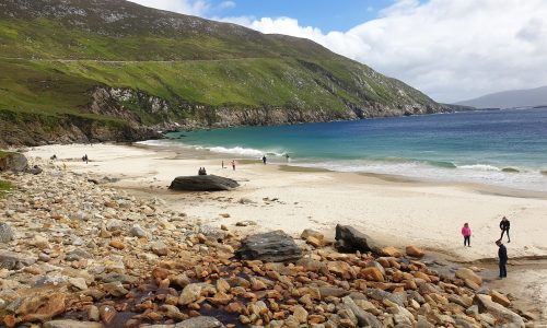 White beach dingle peninsula