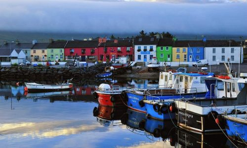 Fishing town Ring of Kerry