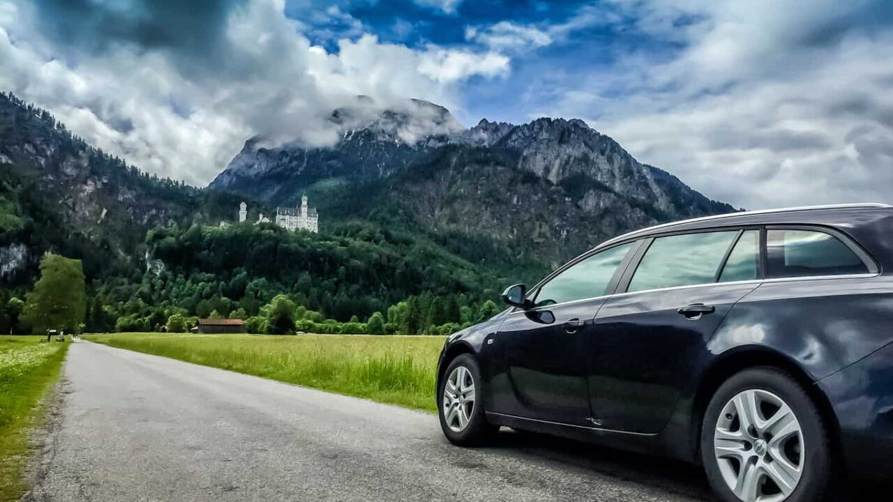 Neuschwanstein Castle road trip in Germany