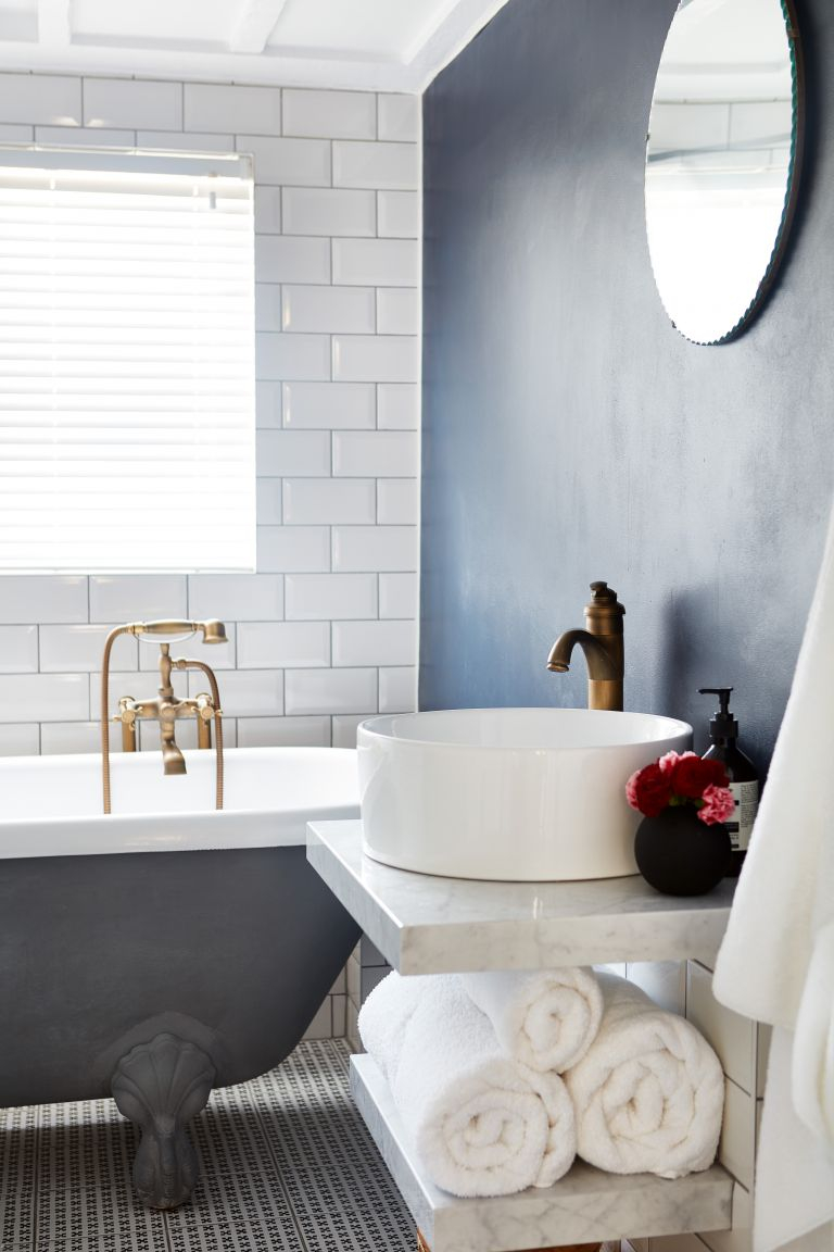 Best Wall Color For Bathroom With No Windows