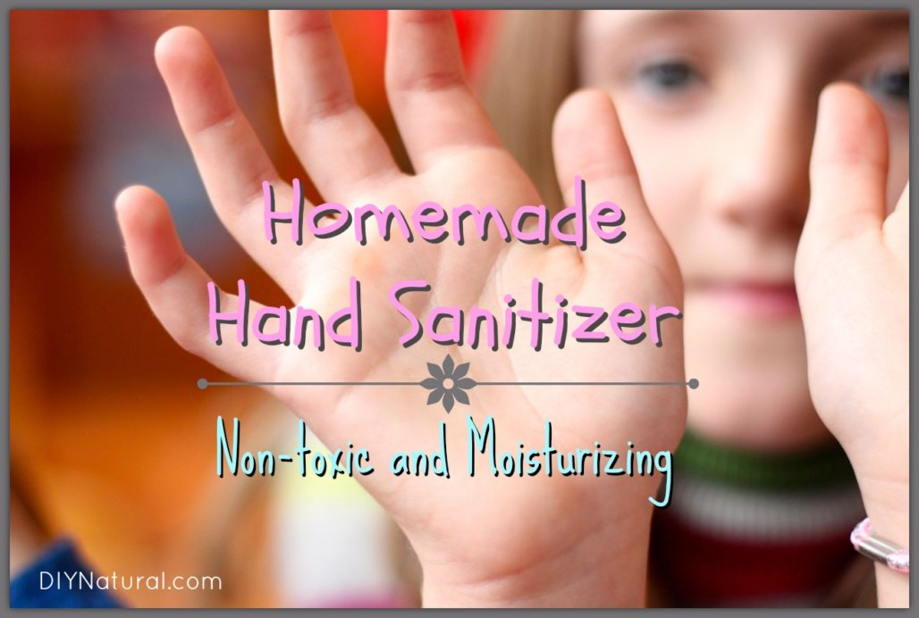 How To Make Hand Sanitizer Homemade Natural And Simple To Make