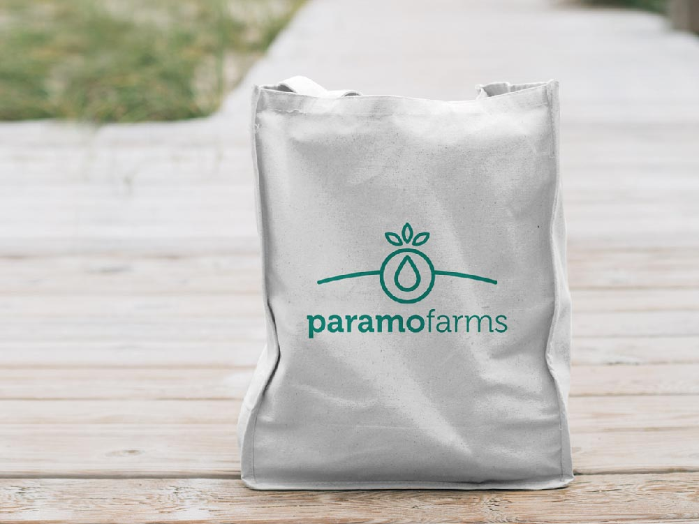 diseño packaging Paramo Farms