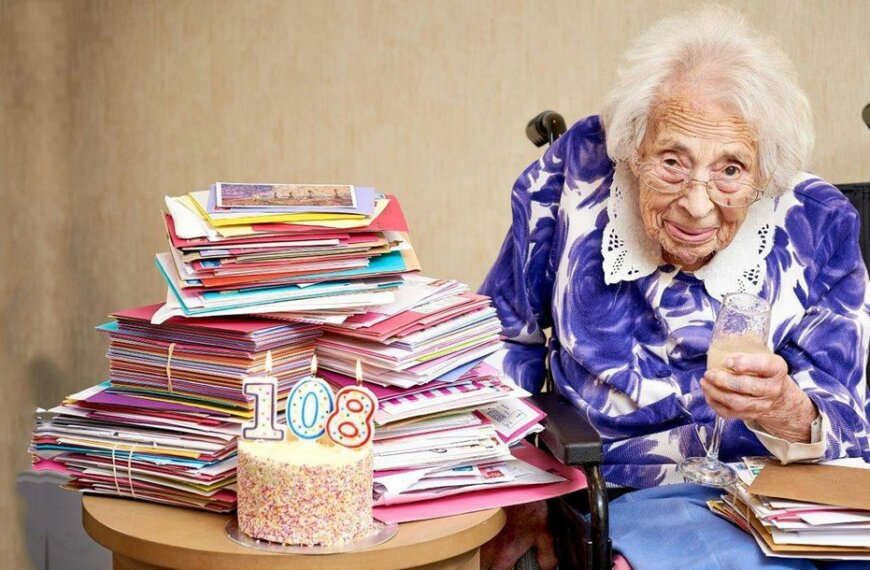 108-year-old Woman Credits Champagne for Her Long Life