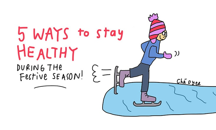 5 Tips for Staying Healthy During the Festive Season (Illustrated)