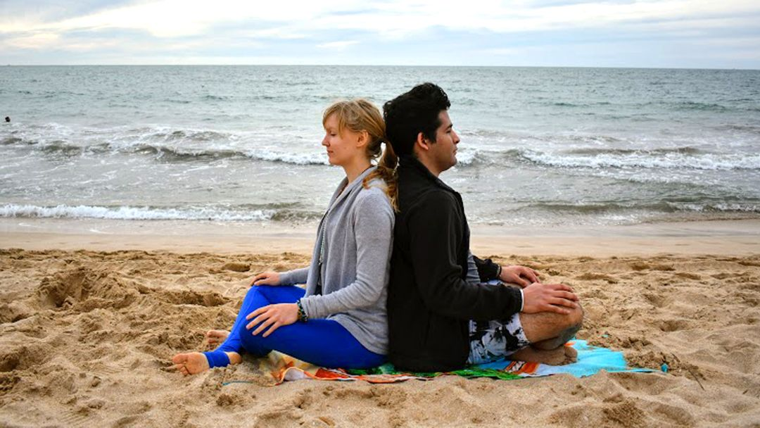 6 Fun Partner Exercises to Help You Let Go and Embrace Trust