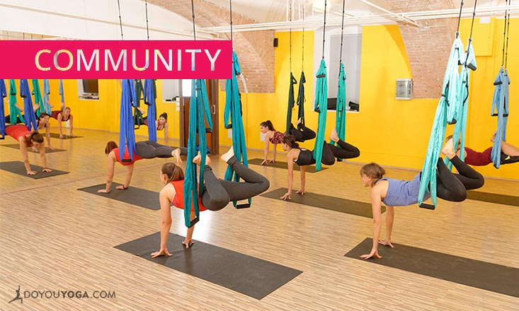 7 Reasons to Try Aerial Yoga (at Least Once)