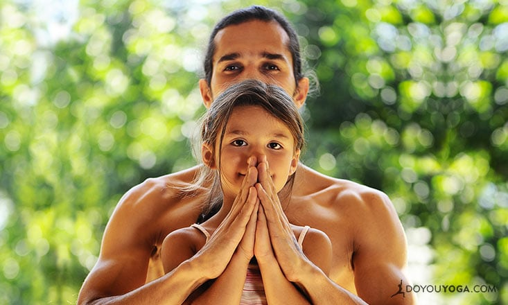 7 Yoga Photos that Celebrate Fathers, Husbands, Uncles, and All Men