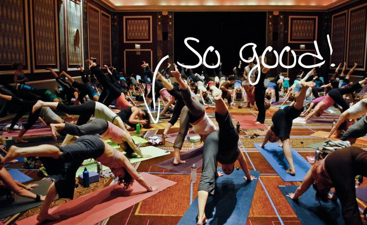 9 Reasons The Best Yoga Class Is The One You Actually Go To