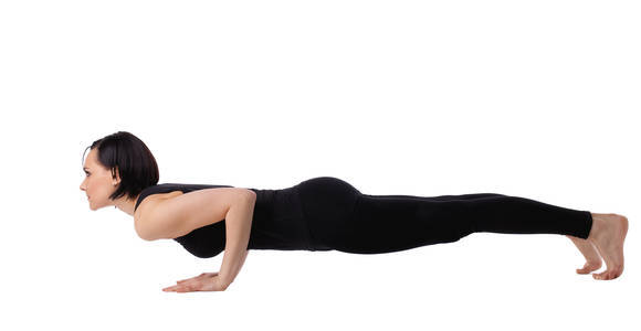 4 Quick Tips To Improve Your Chaturanga Pose