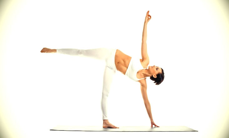 How to Do Half Moon Pose