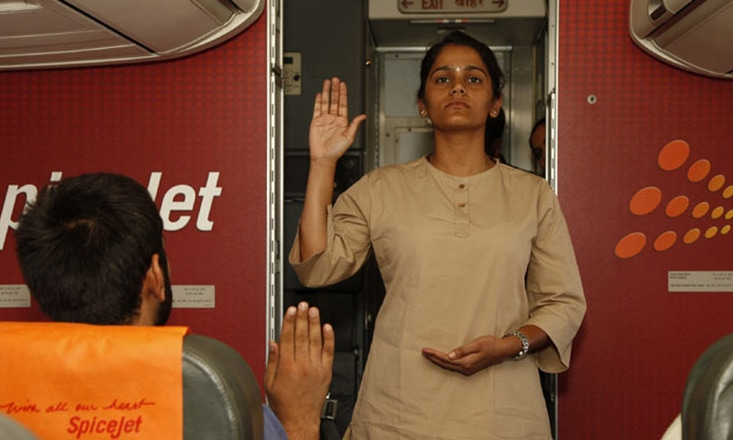 SpiceJet Airline Offers On-Board Yoga Classes for International Yoga Day