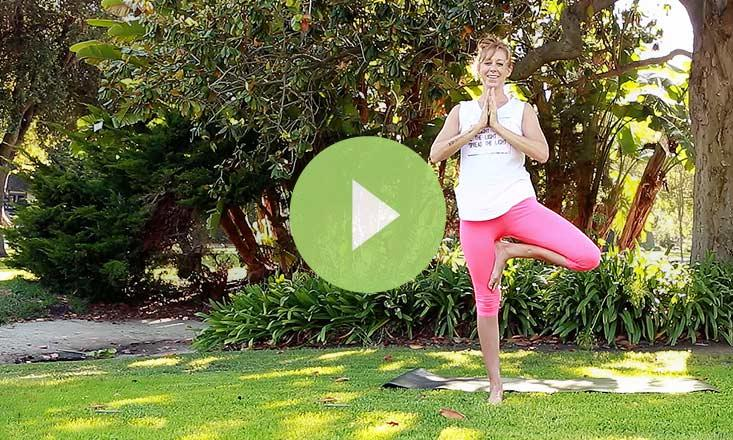 Tricks to Stay Balanced in Tree Pose (VIDEO)