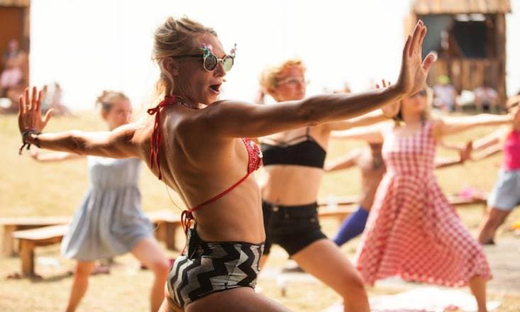 Voga, or 'Vogue Yoga,' Is Coming to NYC This Spring