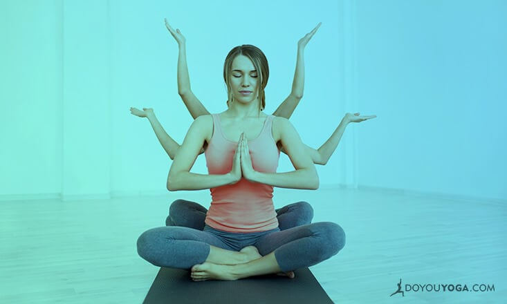 8 Yoga Poses For Busy Women