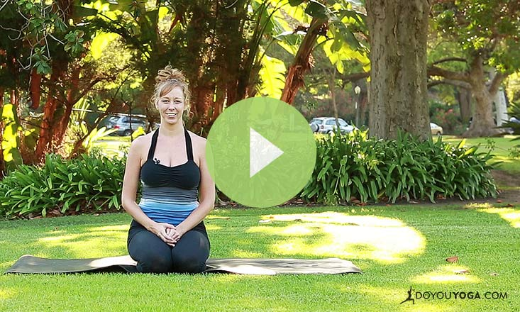Yoga to Calm Your Nerves (Part 1) (VIDEO)