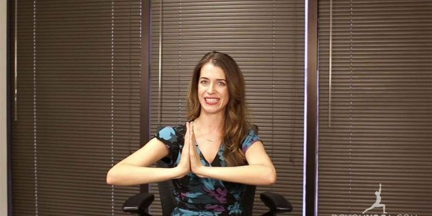 Office Yoga for Wrist Pain
