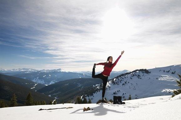 10 Yoga Poses For Skiers