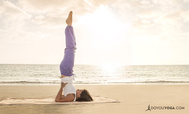 How to Keep Your Neck Safe in Shoulderstand