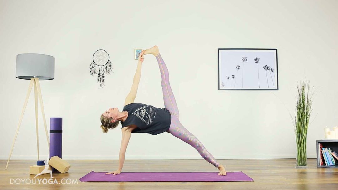 Strengthen and Lengthen into a Full Side Plank