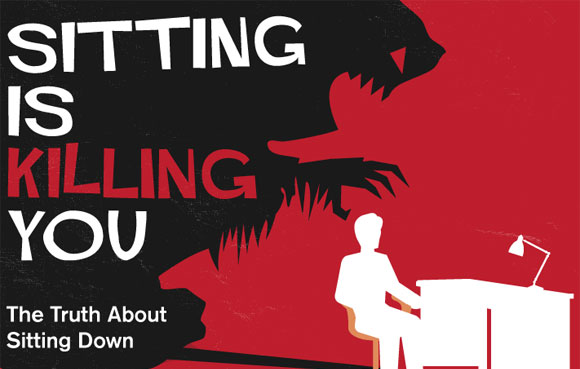 Why Sitting Down is Killing You – Infographic