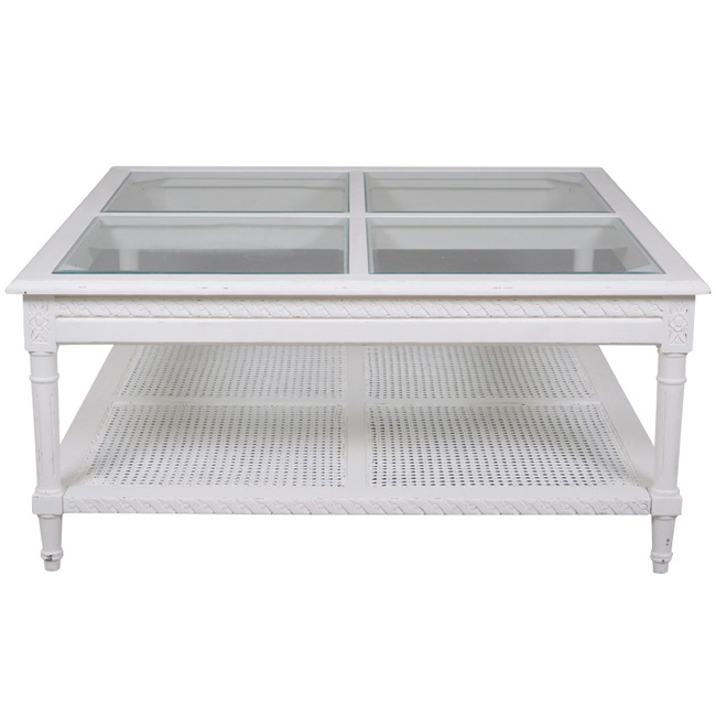 Polo Square Coffee Table Hamptons Style Dwell Furniture Online