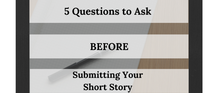 what to do before submitting short story