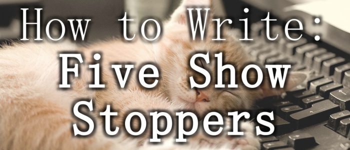 Five Things Stopping your from Writing