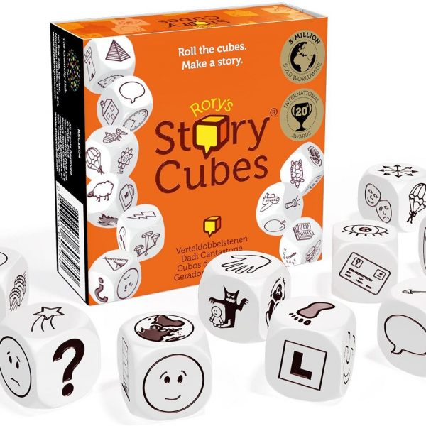 Game Cubes Game for Writers