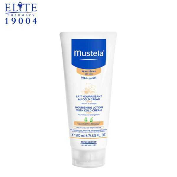 Mustela Nourishing Lotion With Cold Cr. 200Ml 1