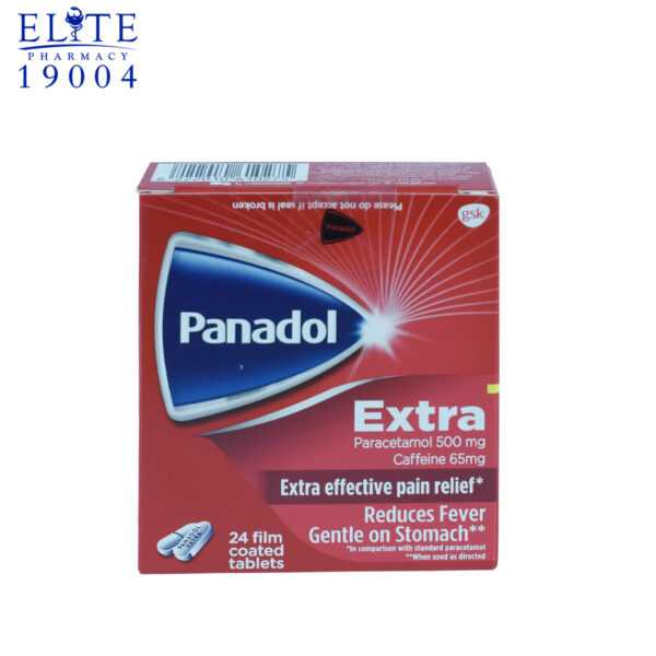 Panadol Extra 24 Film Coated Tables 2