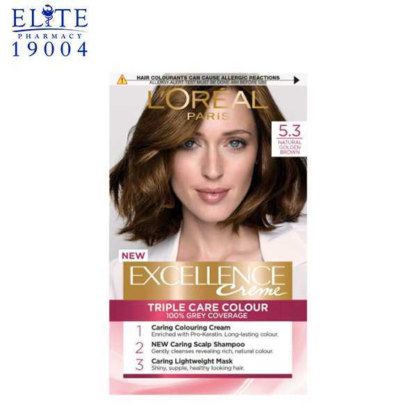 Excellence Creme 5.3 Gloden Brown | Elite Pharmacy 1