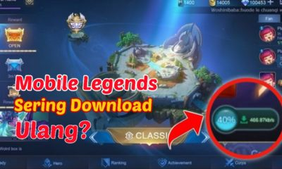 penyebab mobile legends sering download ulang