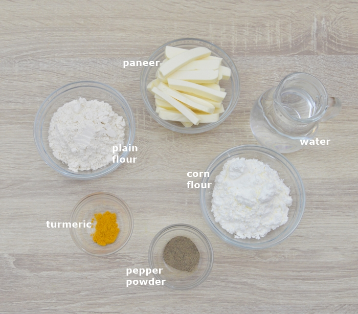 ingredients in bowls placed on a table.