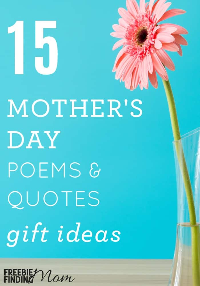 Mothers Day Poems Ideas 3