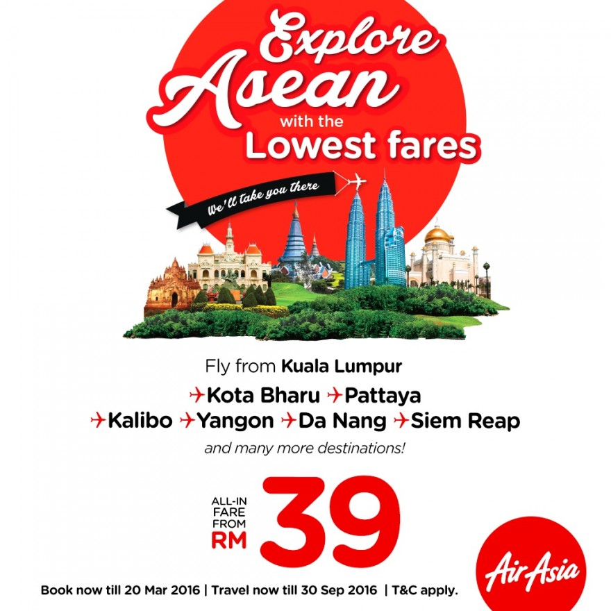 AirAsia Lowest fares