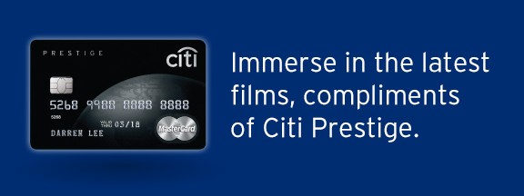 GSC Gold Class Promotion from CITI Prestige