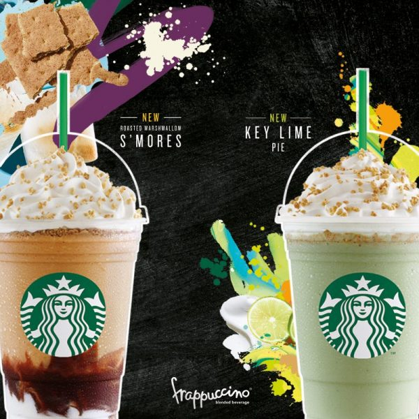 New Starbucks Frappuccino - Sip Outside the Lines