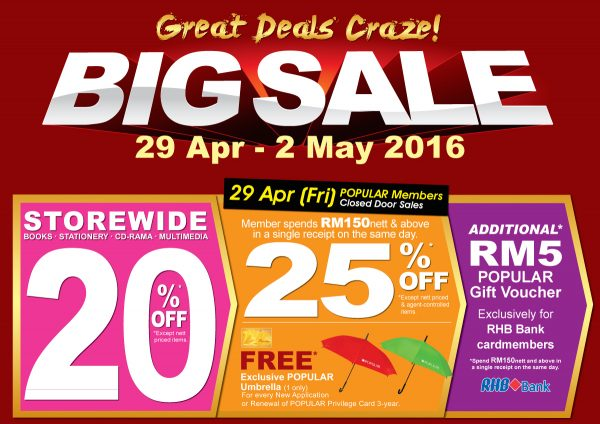 Popular BIG Sale - Save up to 70%