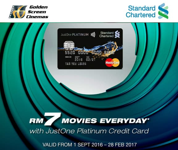 Standard Chartered Bank RM7 Movie