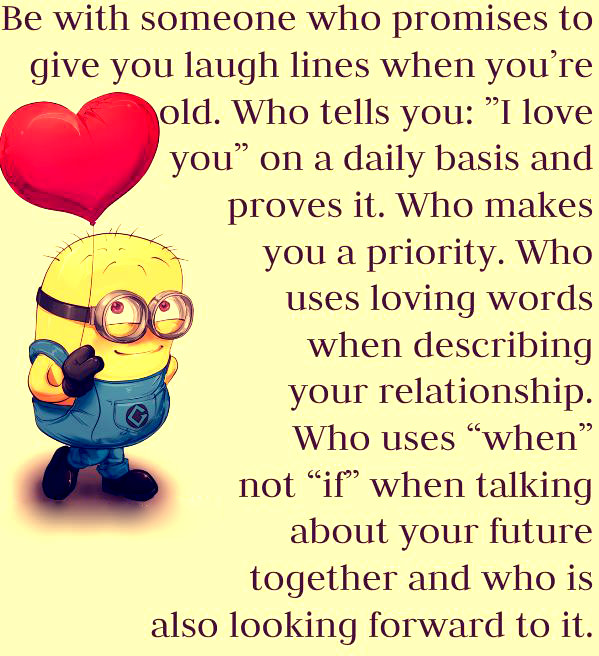 Minions Love Quotes 1