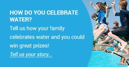 How do you celebrate water?