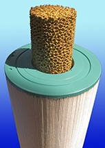 """SpaCore Natural Water Filter Small 1 1/2"""""""