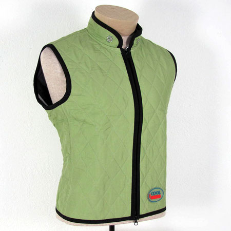 Cool Vests - ladies decorated high neck many colors ON SALE